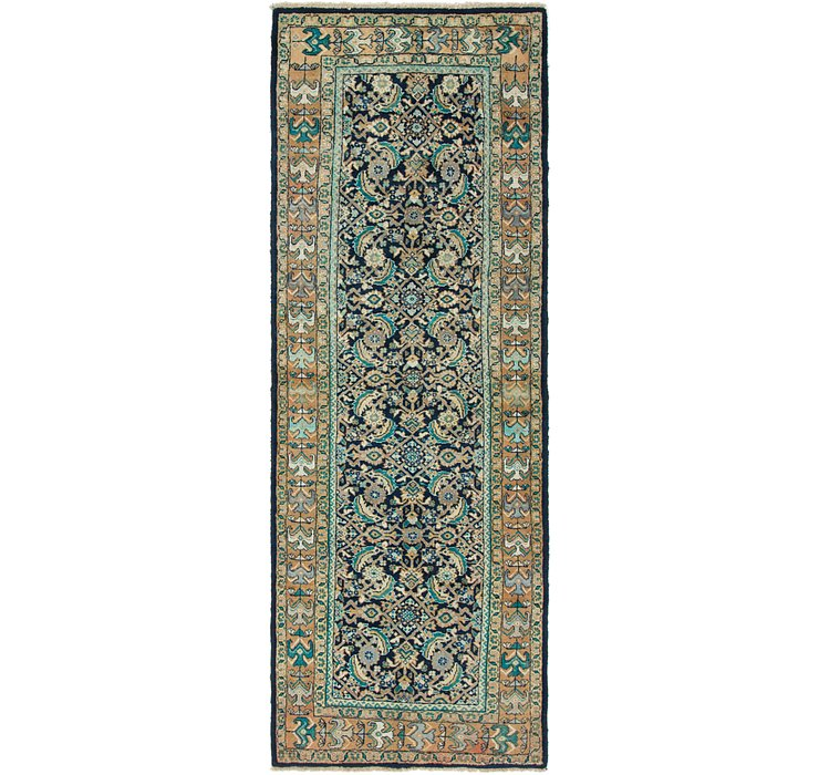 3' 6 x 10' 3 Mahal Persian Runner Rug
