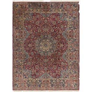 9 X 13 Kerman Persian Rug