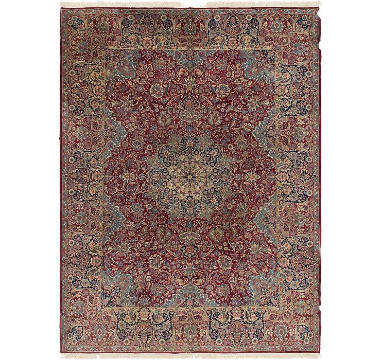 9' 9 x 13' Kerman Persian Rug