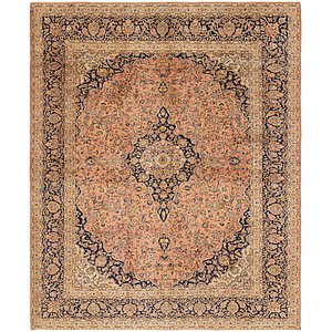 Link to 10' x 12' Kashan Persian Rug item page