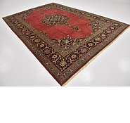 Link to 8' 9 x 13' 2 Kashan Persian Rug