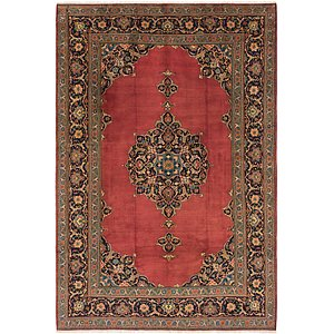 Link to 8' 9 x 13' 2 Kashan Persian Rug item page