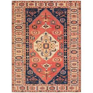 9x12 Shirvan Persian Oriental Rugs Handknotted Com