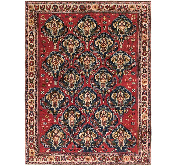 6' 9 x 9' 2 Shirvan Persian Rug