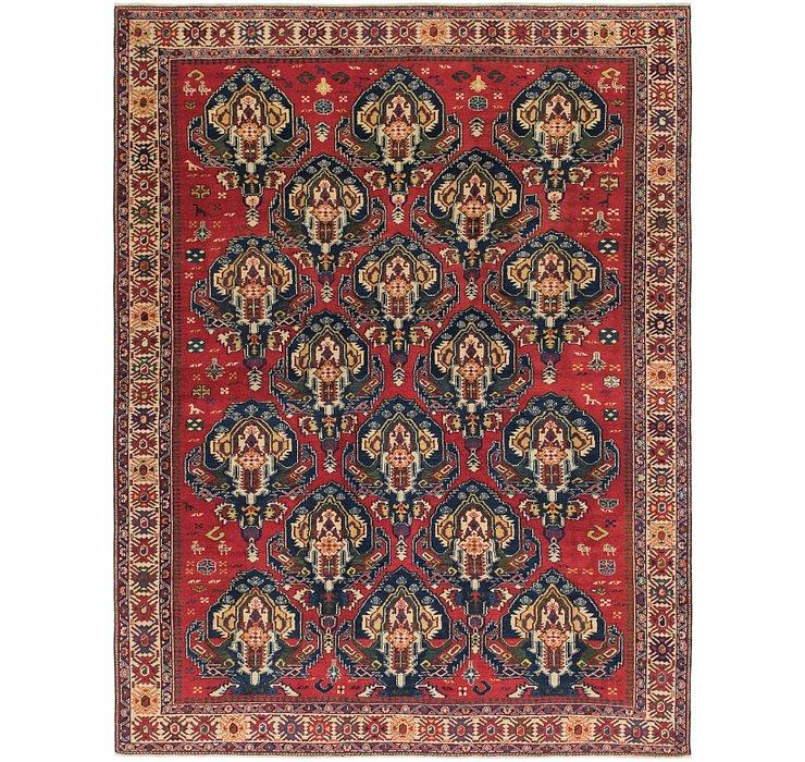 6' 9 x 9' 2 Shirvan Persian Rug
