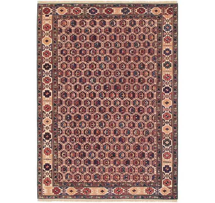 6' 8 x 9' 5 Shirvan Persian Rug