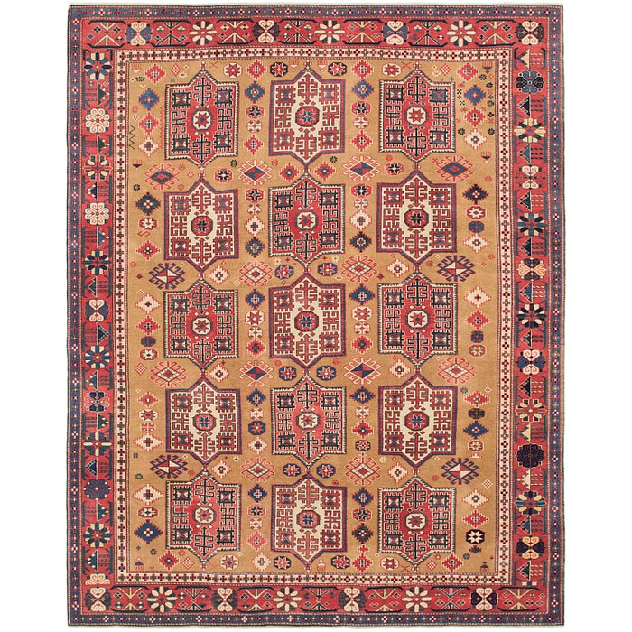 6' 10 x 8' 8 Shirvan Persian Rug