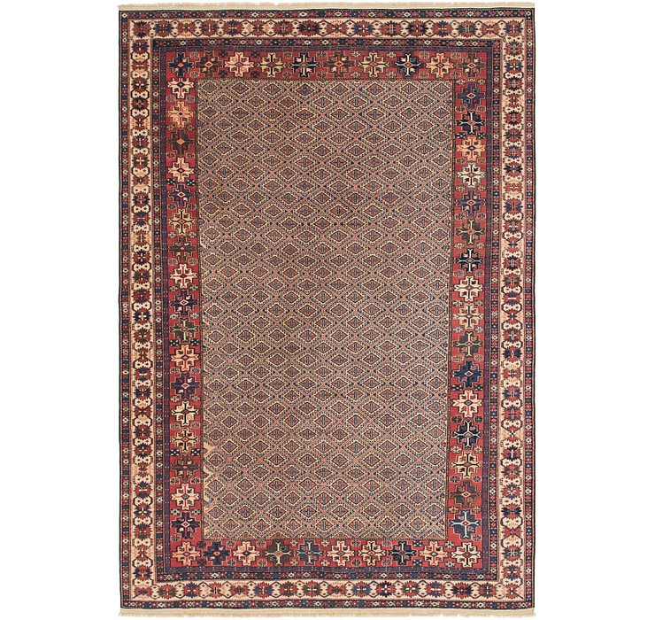 6' 6 x 9' 9 Shirvan Persian Rug