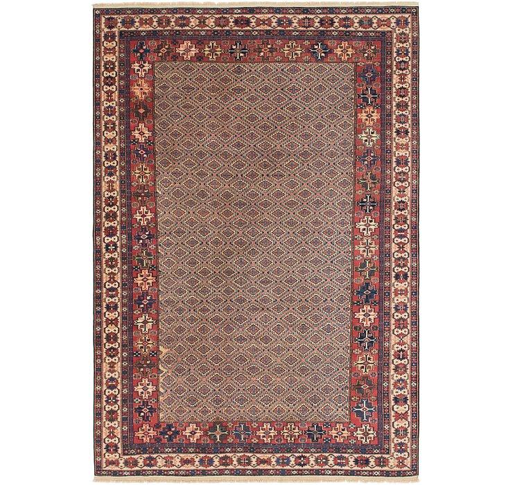 6' 6 x 9' 9 Shirvan Persian Rug