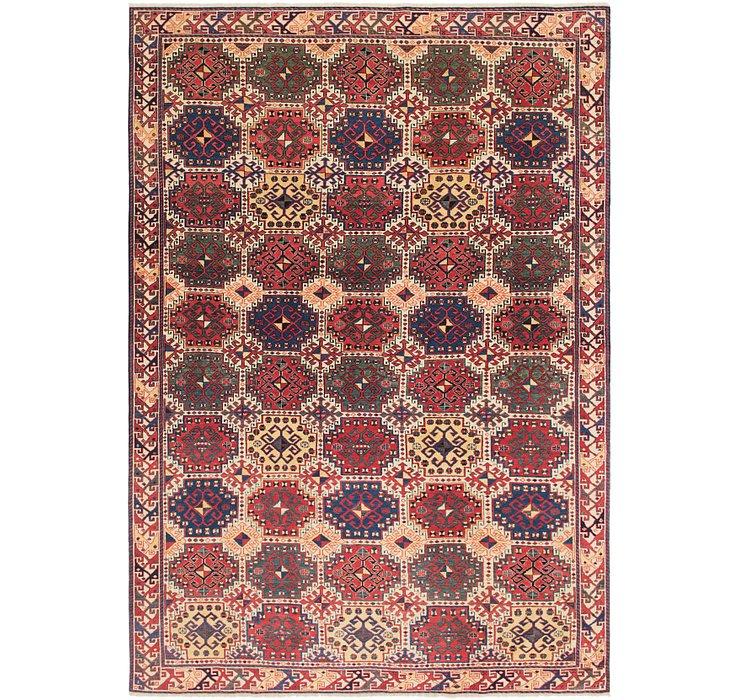 195cm x 292cm Shirvan Persian Rug