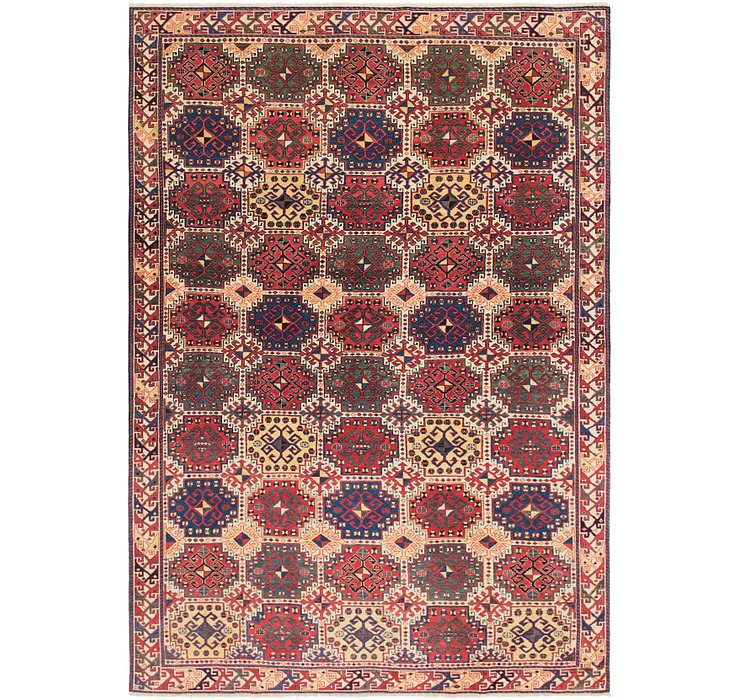 6' 5 x 9' 7 Shirvan Persian Rug