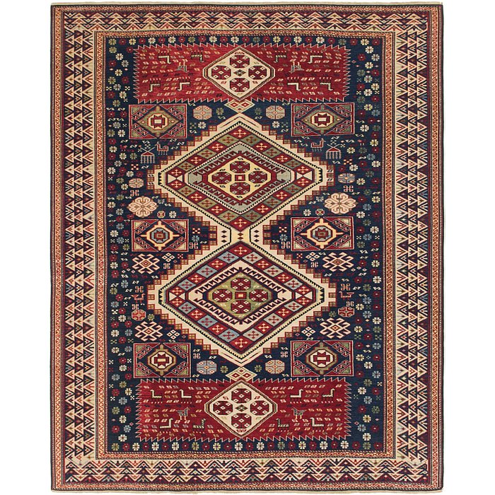 6' 8 x 8' 3 Shirvan Persian Rug
