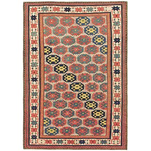 Link to 115cm x 165cm Shirvan Persian Rug item page