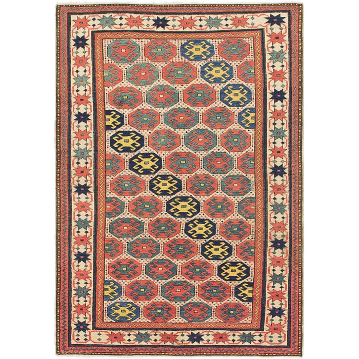 3' 9 x 5' 5 Shirvan Persian Rug