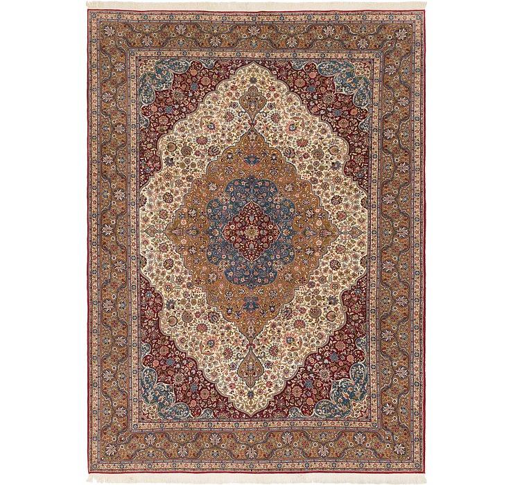 8' 7 x 12' Hereke Oriental Rug