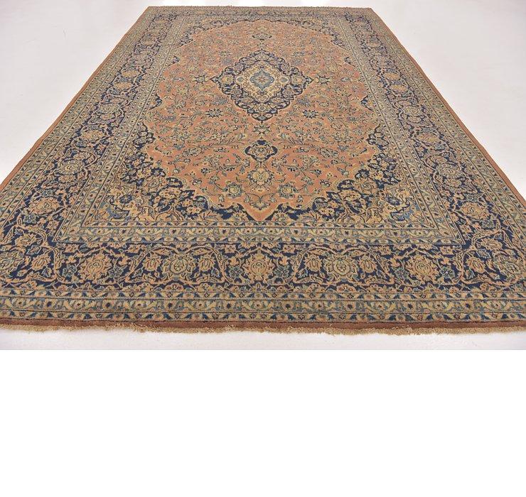 8' 4 x 12' 10 Kashan Persian Rug