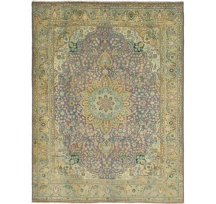 10' 2 x 13' 6 Tabriz Persian Rug