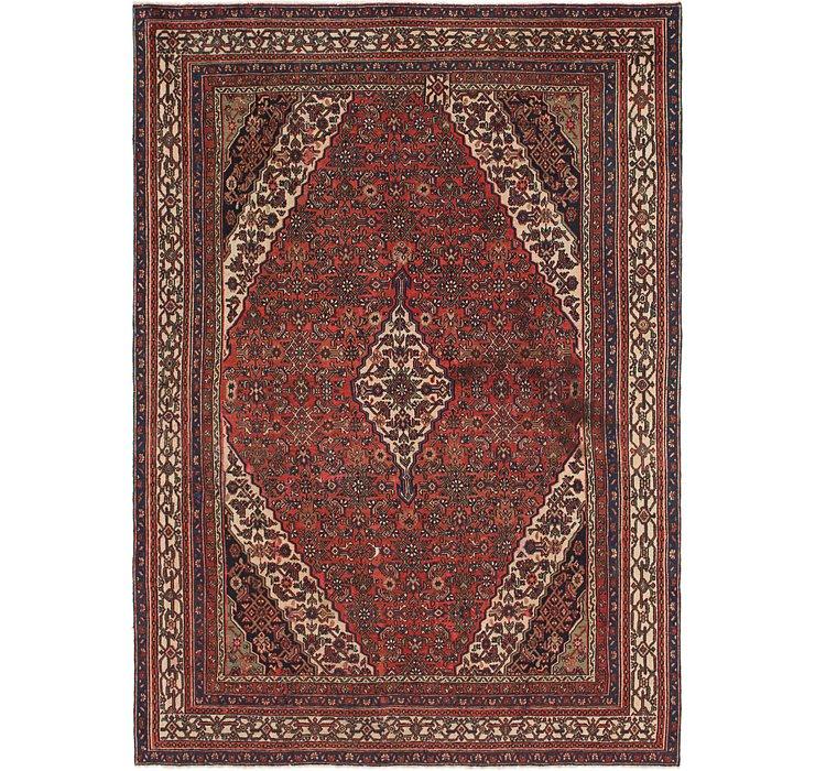 HandKnotted 9' 2 x 12' 10 Hamedan Persian Rug