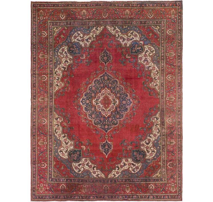 9' 6 x 12' 7 Tabriz Persian Rug