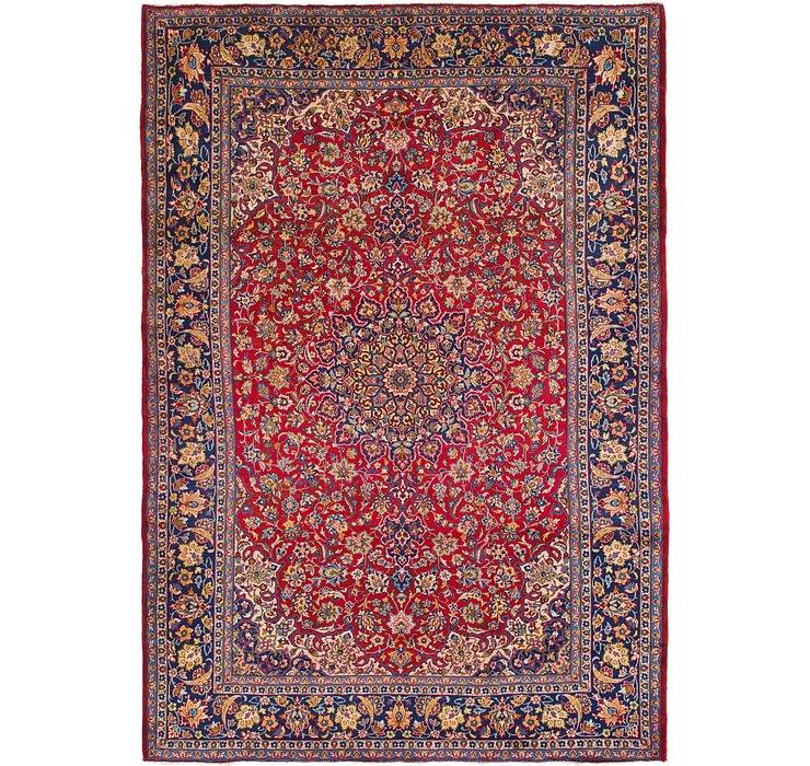 10' x 14' 3 Isfahan Persian Rug