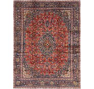 Link to 9' 3 x 12' Mashad Persian Rug