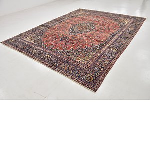 Link to 282cm x 365cm Mashad Persian Rug item page