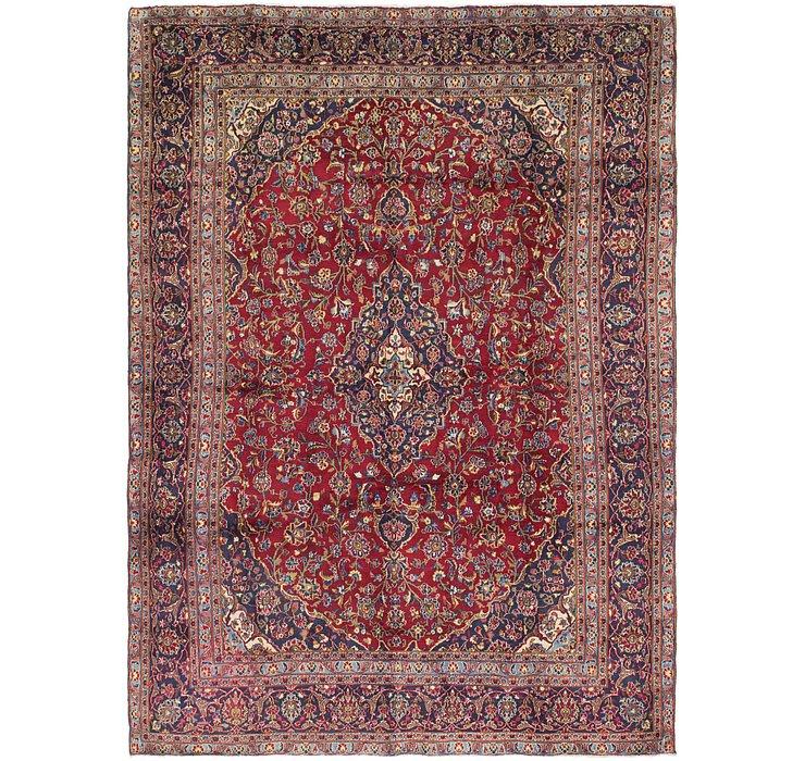 8' 10 x 12' 4 Kashan Persian Rug