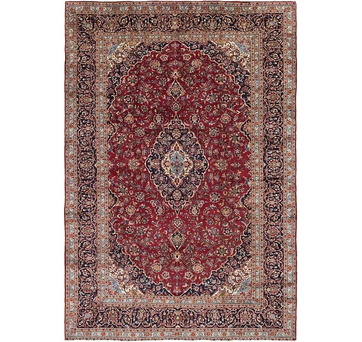 9' 8 x 14' 5 Kashan Persian Rug