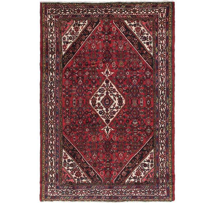 HandKnotted 7' x 10' 3 Hamedan Persian Rug