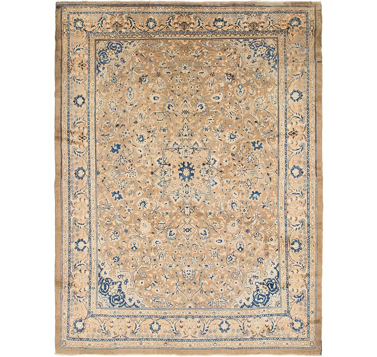 HandKnotted 10' 9 x 14' 2 Mahal Persian Rug