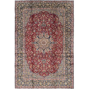 9' 3 x 13' 7 Isfahan Persian Rug