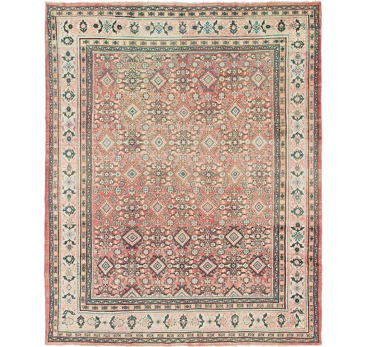 9' 8 x 12' 2 Farahan Persian Rug