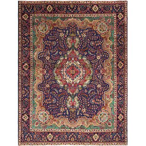 Link to 9' 10 x 12' 9 Tabriz Persian Rug item page