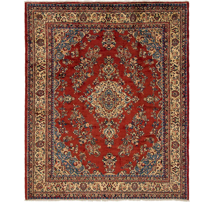 9' 3 x 11' Shahrbaft Persian Rug