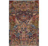 Link to 7' 10 x 11' 4 Kashmar Persian Rug