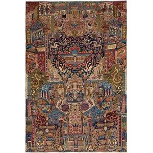 7' 10 x 11' 4 Kashmar Persian Rug