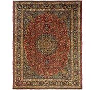 Link to 9' 9 x 12' Mashad Persian Rug