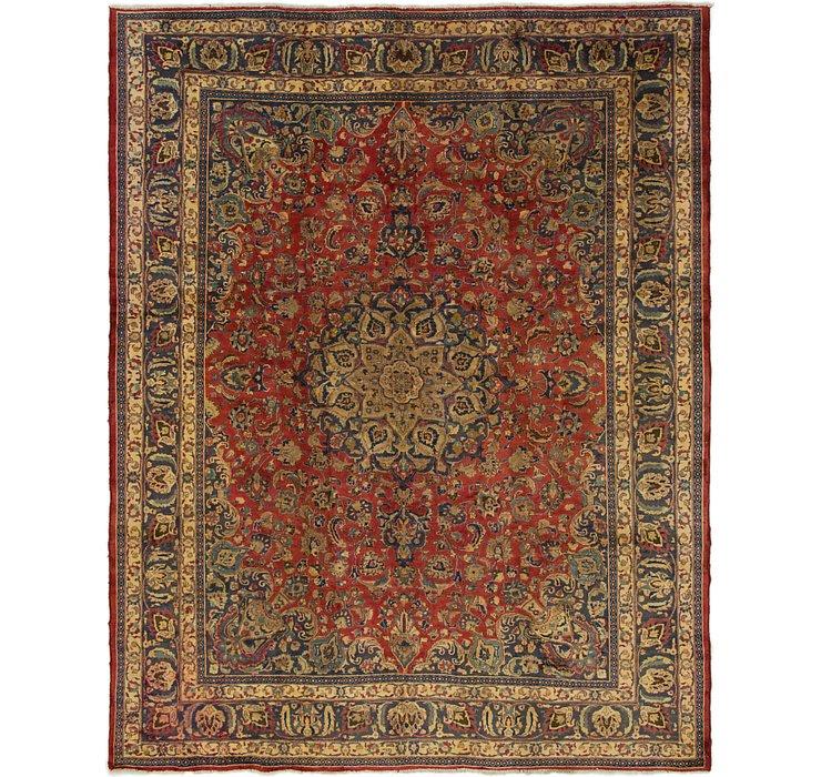 9' 9 x 12' Mashad Persian Rug