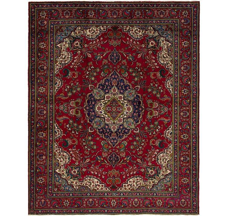 10' 4 x 12' 9 Tabriz Persian Rug