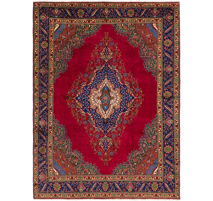 9' 9 x 13' 5 Tabriz Persian Rug