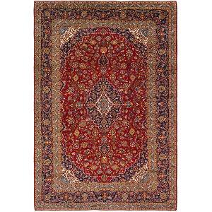 9' 8 x 14' 3 Kashan Persian Rug