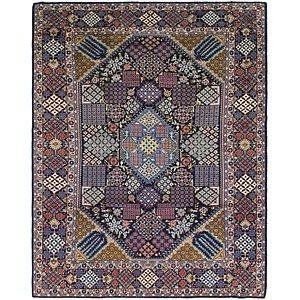 9' 8 x 12' 3 Isfahan Persian Rug