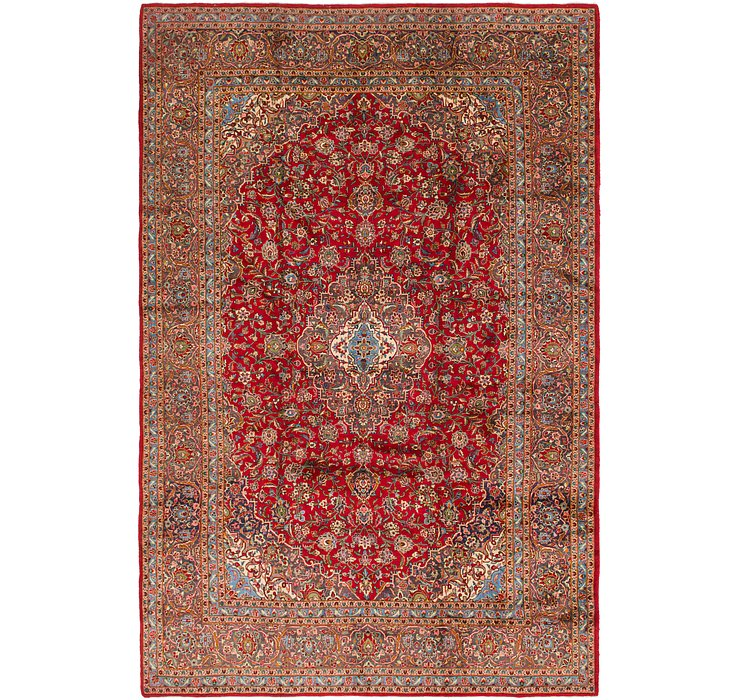 290cm x 445cm Kashan Persian Rug