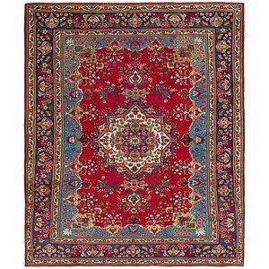 10' 6 x 12' 7 Tabriz Persian Rug