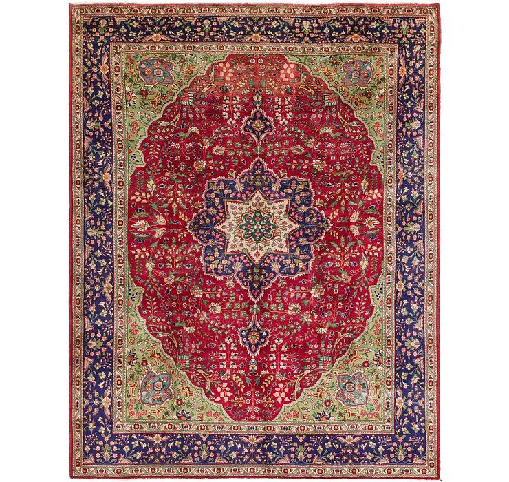 9' 3 x 12' 5 Tabriz Persian Rug