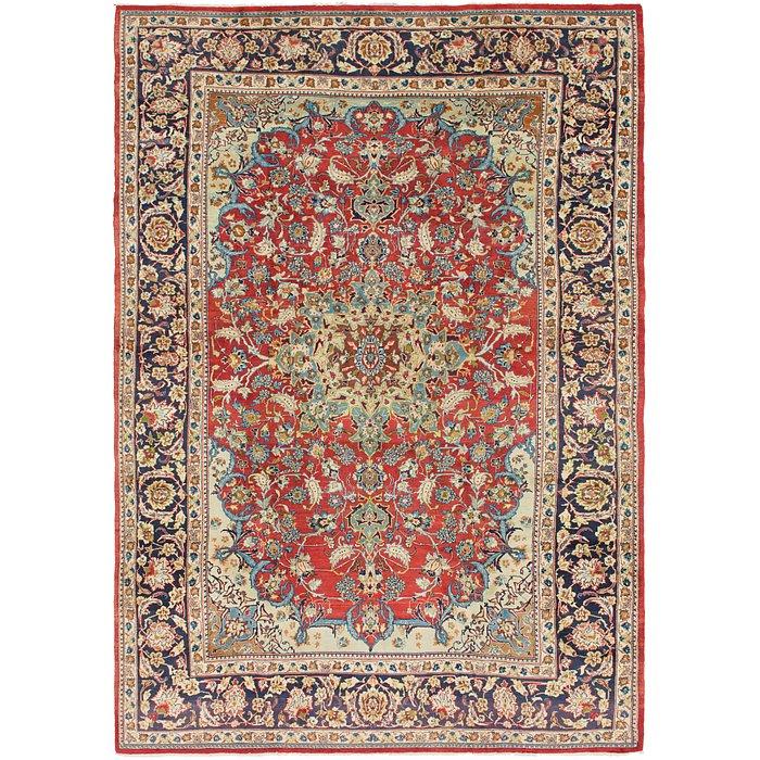 9' x 13' 3 Isfahan Persian Rug
