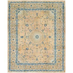 10' x 11' 5 Mashad Persian Square Rug