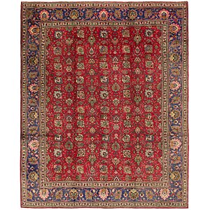 9' 8 x 12' 2 Tabriz Persian Rug