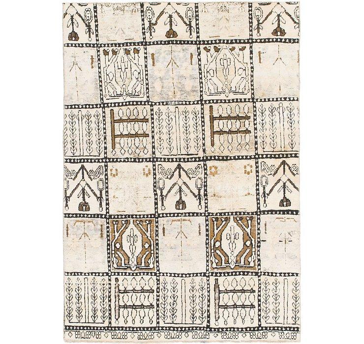4' 6 x 6' 6 Ultra Vintage Persian Rug