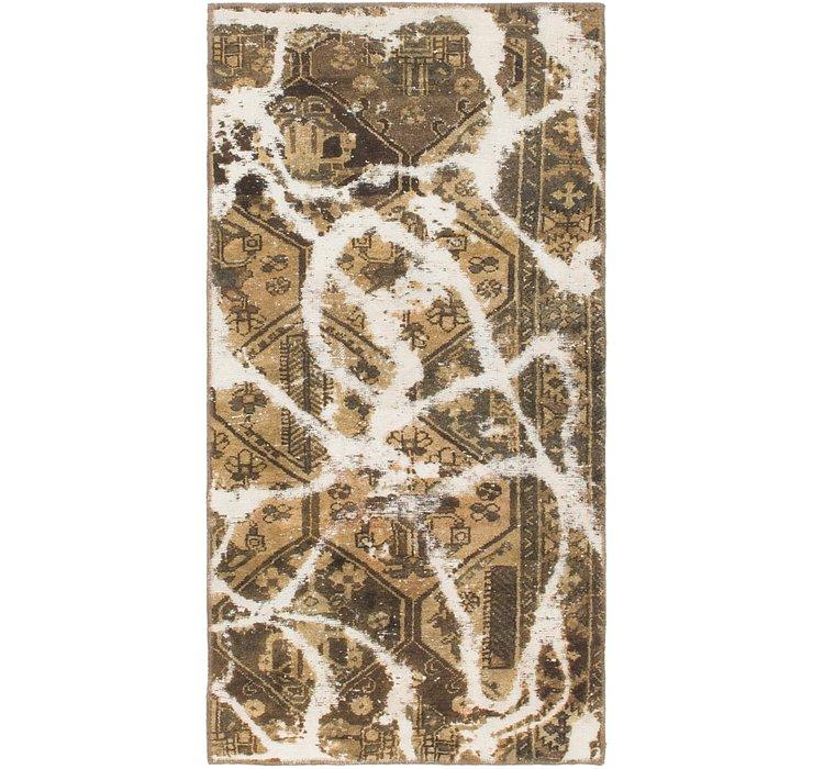 2' 9 x 5' 5 Ultra Vintage Persian Rug
